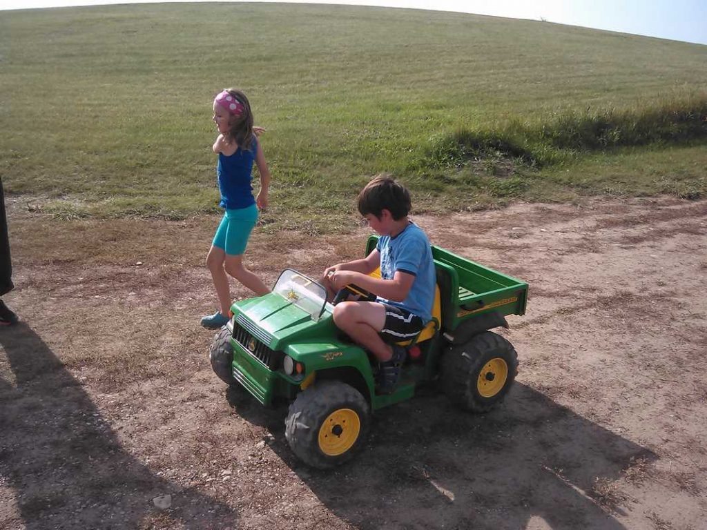 Working hard at the farm!