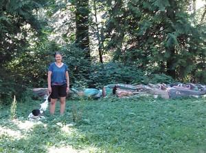 Totem Poles at Bowen Park
