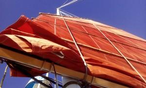 Junk rig sail